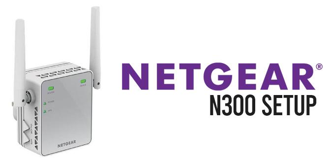 Netgear n300 setup